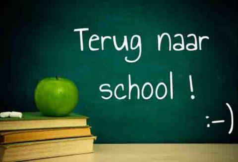 Aan iedereen een fijne start van het nieuwe schooljaar !